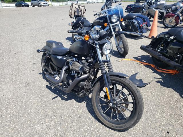 Salvage cars for sale from Copart Pennsburg, PA: 2014 Harley-Davidson XL883 Iron