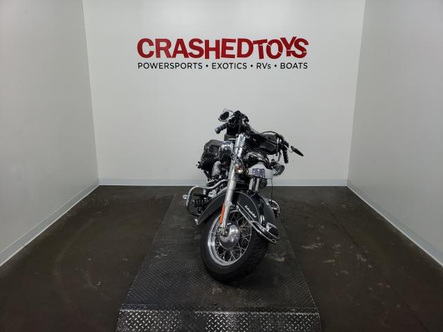 Salvage cars for sale from Copart Ham Lake, MN: 2014 Harley-Davidson Flstc Heri