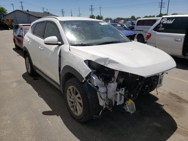 Salvage cars for sale from Copart Nampa, ID: 2017 Hyundai Tucson Limited