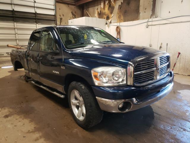 Vehiculos salvage en venta de Copart Casper, WY: 2008 Dodge RAM 1500 S