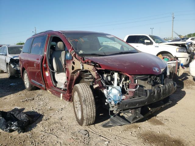 Salvage cars for sale from Copart Indianapolis, IN: 2013 Toyota Sienna XLE