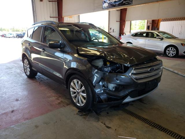 Salvage cars for sale from Copart Angola, NY: 2019 Ford Escape SEL