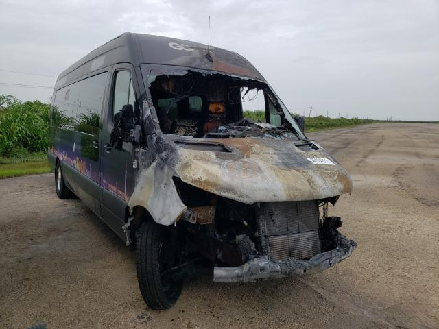 Salvage cars for sale from Copart Miami, FL: 2019 Mercedes-Benz Sprinter 3