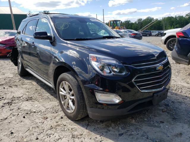 Salvage cars for sale at Candia, NH auction: 2017 Chevrolet Equinox LT