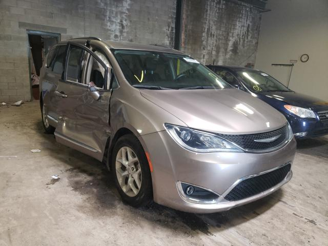 Salvage cars for sale from Copart Chalfont, PA: 2017 Chrysler Pacifica T