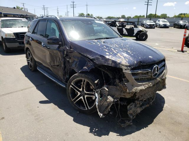 Salvage cars for sale from Copart Nampa, ID: 2018 Mercedes-Benz GLE 43 AMG