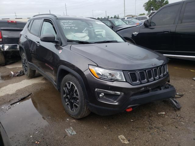 Vehiculos salvage en venta de Copart Riverview, FL: 2021 Jeep Compass TR