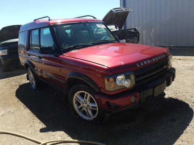 Salvage cars for sale from Copart Helena, MT: 2003 Land Rover Discovery