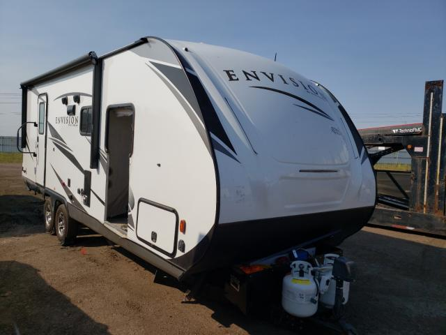 Gulf Stream Travel Trailer salvage cars for sale: 2020 Gulf Stream Travel Trailer