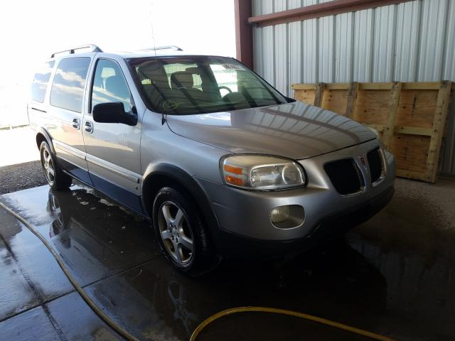 Salvage cars for sale from Copart Helena, MT: 2006 Pontiac Montana SV