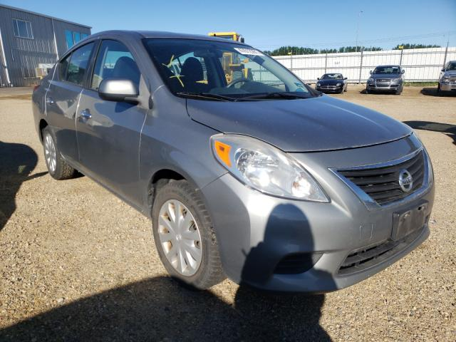 Salvage cars for sale from Copart Nisku, AB: 2012 Nissan Versa S