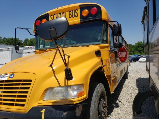 2014 BLUEBIRD  SCHOOL BUS