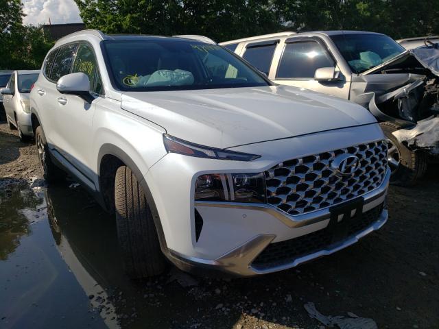 Vehiculos salvage en venta de Copart North Billerica, MA: 2021 Hyundai Santa FE L