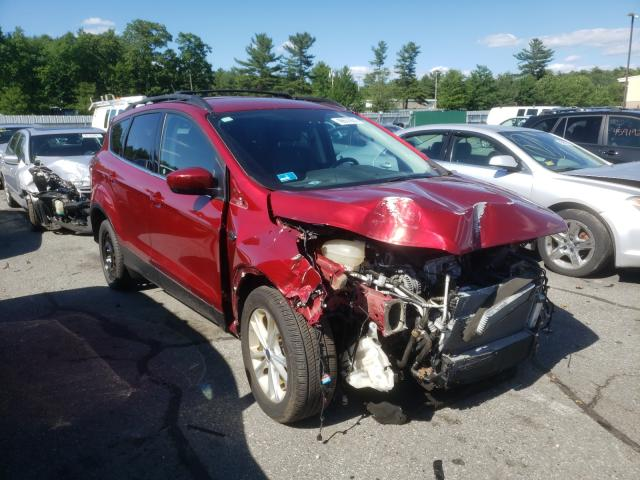 Vehiculos salvage en venta de Copart Exeter, RI: 2017 Ford Escape SE