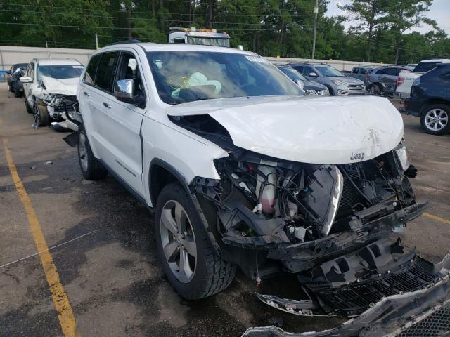 Salvage cars for sale at Eight Mile, AL auction: 2015 Jeep Grand Cherokee