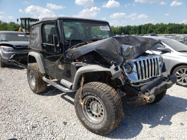 Jeep Wrangler salvage cars for sale: 2003 Jeep Wrangler