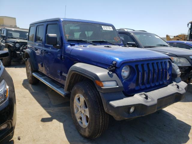 Salvage cars for sale from Copart Tulsa, OK: 2018 Jeep Wrangler U