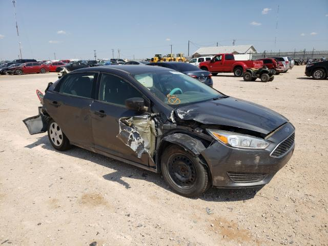 Salvage cars for sale from Copart Andrews, TX: 2017 Ford Focus S