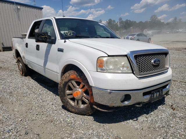 Salvage cars for sale from Copart Spartanburg, SC: 2007 Ford F150 Super
