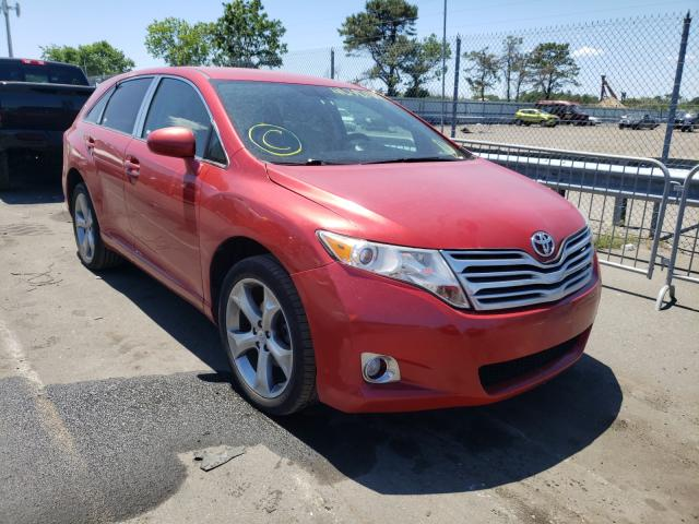 Salvage cars for sale from Copart Brookhaven, NY: 2012 Toyota Venza LE