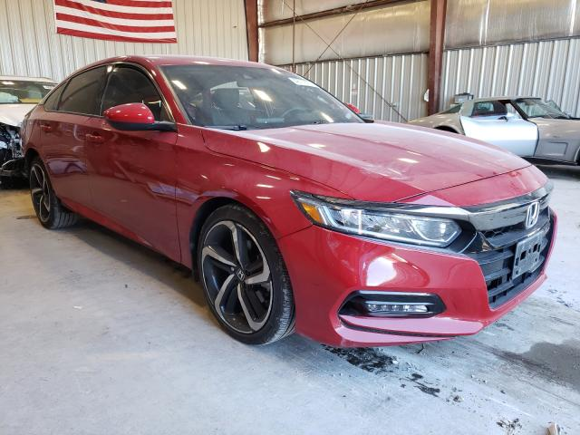 Salvage cars for sale from Copart Appleton, WI: 2018 Honda Accord Sport