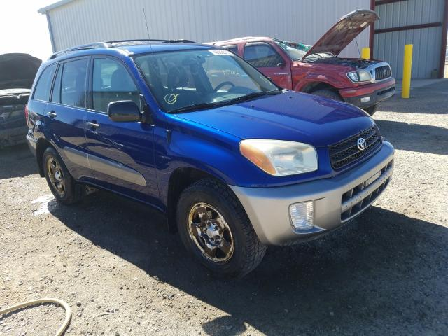 Salvage cars for sale from Copart Helena, MT: 2002 Toyota Rav4
