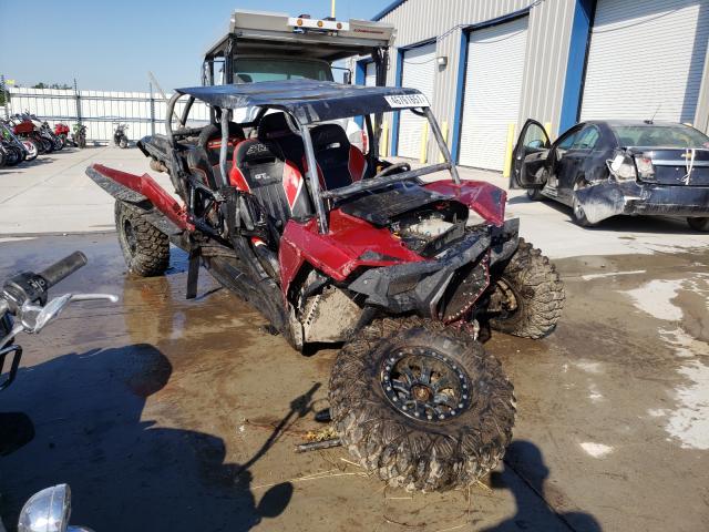 Salvage cars for sale from Copart Alorton, IL: 2018 Polaris RZR XP Turbo