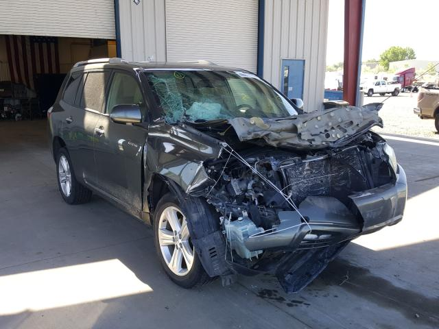 Salvage cars for sale from Copart Billings, MT: 2008 Toyota Highlander