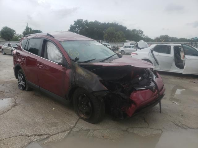 Salvage cars for sale from Copart Punta Gorda, FL: 2018 Toyota Rav4 LE