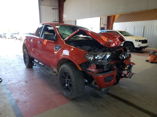Salvage cars for sale from Copart Angola, NY: 2019 Ford Ranger SUP