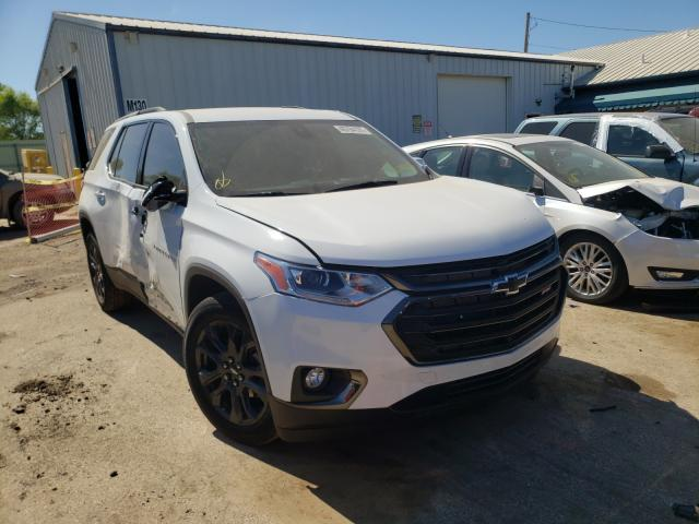 Salvage cars for sale from Copart Pekin, IL: 2020 Chevrolet Traverse R
