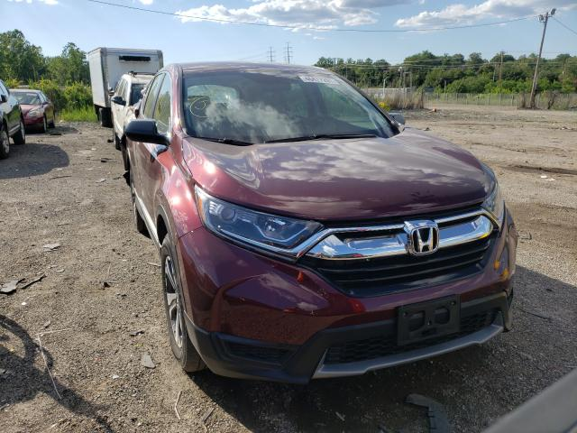 Salvage cars for sale from Copart Baltimore, MD: 2019 Honda CR-V LX