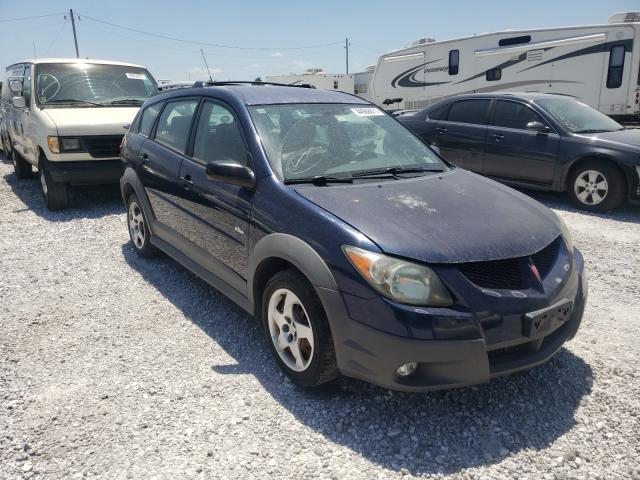 Salvage cars for sale from Copart Rogersville, MO: 2004 Pontiac Vibe