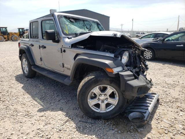 Salvage cars for sale at Magna, UT auction: 2020 Jeep Wrangler U