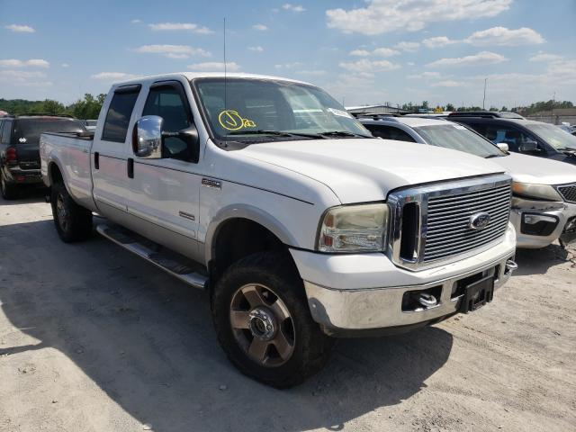 Salvage trucks for sale at Alorton, IL auction: 2006 Ford F350 SRW S
