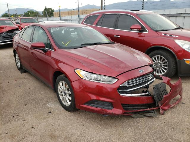 Salvage cars for sale from Copart Colorado Springs, CO: 2016 Ford Fusion S