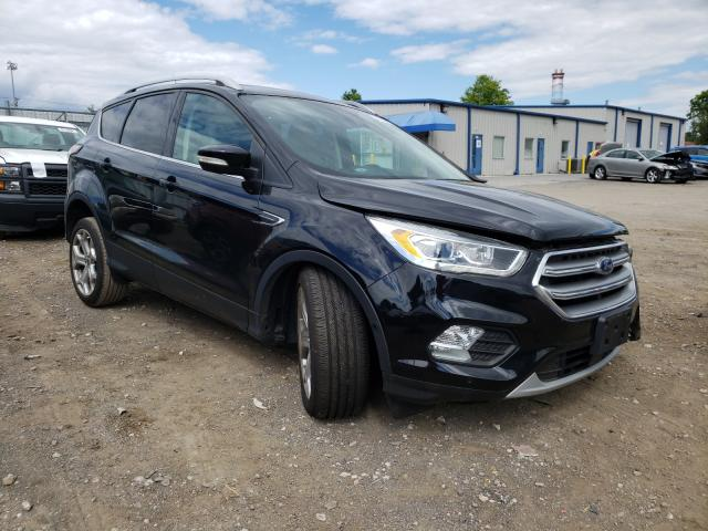 Salvage cars for sale from Copart Finksburg, MD: 2017 Ford Escape Titanium