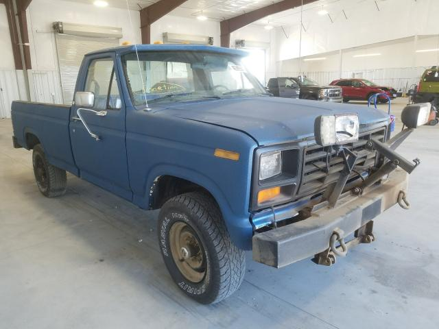 Ford F-150 salvage cars for sale: 1985 Ford F-150