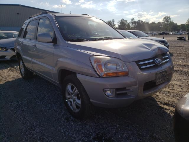 Salvage cars for sale from Copart Spartanburg, SC: 2005 KIA New Sporta
