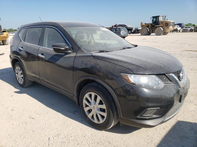Salvage cars for sale from Copart San Antonio, TX: 2015 Nissan Rogue S