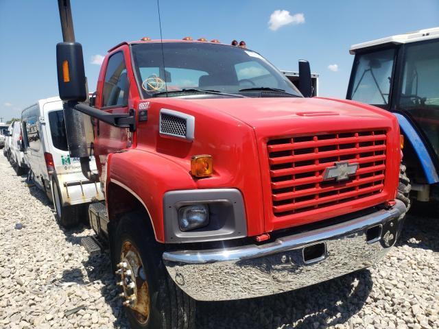 Salvage trucks for sale at Louisville, KY auction: 2003 Chevrolet C8500 C8C0