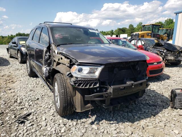 Vehiculos salvage en venta de Copart Mebane, NC: 2017 Dodge Durango SX