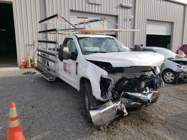 Salvage cars for sale from Copart Jacksonville, FL: 2019 Ford F250 Super