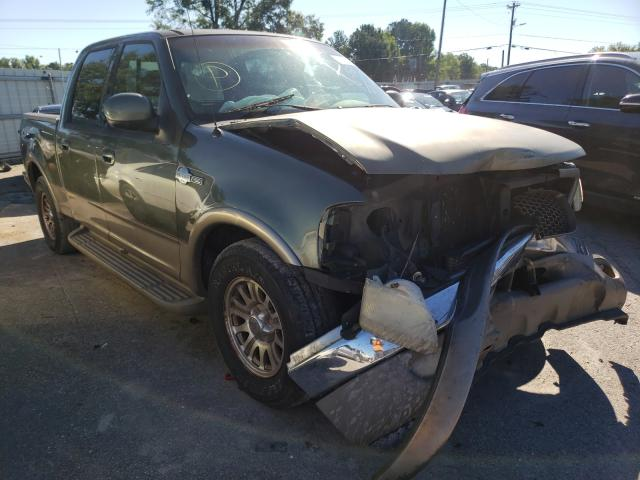 Salvage trucks for sale at Montgomery, AL auction: 2001 Ford F150 Super