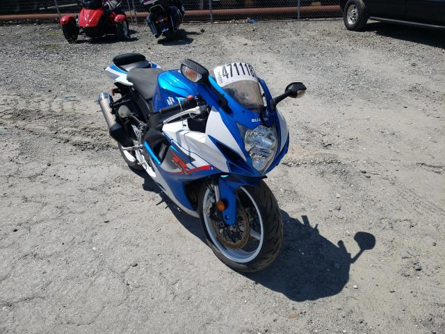 2013 SUZUKI GSX-R600 JS1GN7FA4D2100258