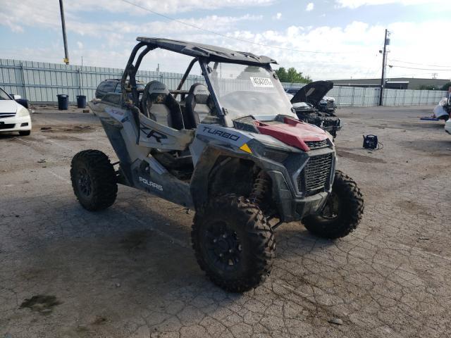 Salvage cars for sale from Copart Lexington, KY: 2021 Polaris RZR XP Turbo