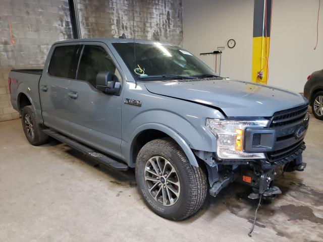 Salvage cars for sale from Copart Chalfont, PA: 2020 Ford F150 Super