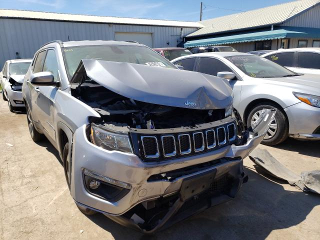 Salvage cars for sale from Copart Pekin, IL: 2019 Jeep Compass LA
