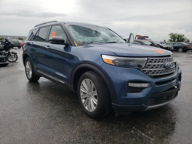 Salvage cars for sale from Copart Orlando, FL: 2020 Ford Explorer L