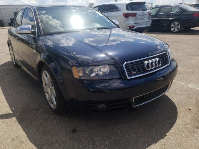 Salvage cars for sale from Copart Moraine, OH: 2004 Audi S4